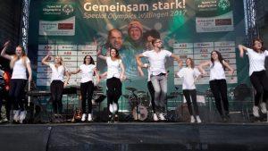 UPS-Projektgruppe 'Tanzen' mit Dominik Hof