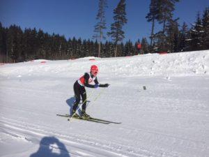 Ilva Kesper im Staffelrennen