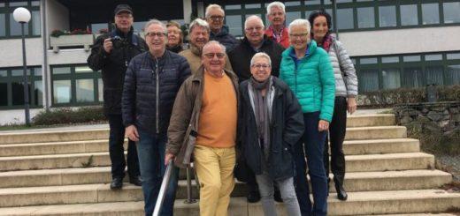 Schulführung 50 Jahre Abitur Uplandschule